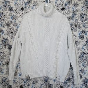a.n.a  Turtleneck Pullover Sweater, SZ M
